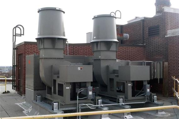 Luthe Sheet Metal completed a renovation of Pennsylvania Hospital's sub-basement, helping to create medical laboratories. Included in the project was the installation of a state-of-the-art high-plume laboratory exhaust system.